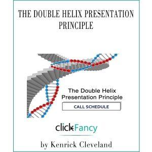 The Double Helix Presentation Principle