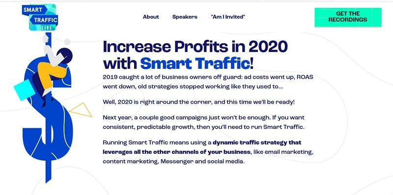 Smart Traffic Live - 3 Day Virtual Summit on Paid Traffic