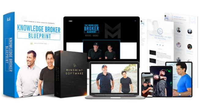 Tony Robbins, Dean Graziosi – The Knowledge Broker Blueprint