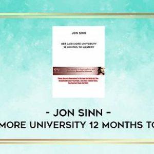 jon-sinn-12-months-to-mastery