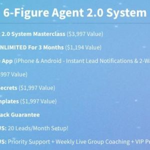Jason Wardrope – 6-Figure Agent 2.0 System & Seller Lead Mastery Course