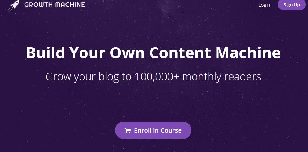 Nat Eliason – Build Your Own Content Machine